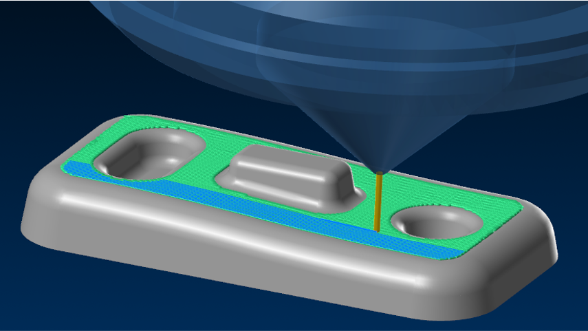 Orthonormal toolpath for additive manufacturing in APlus
