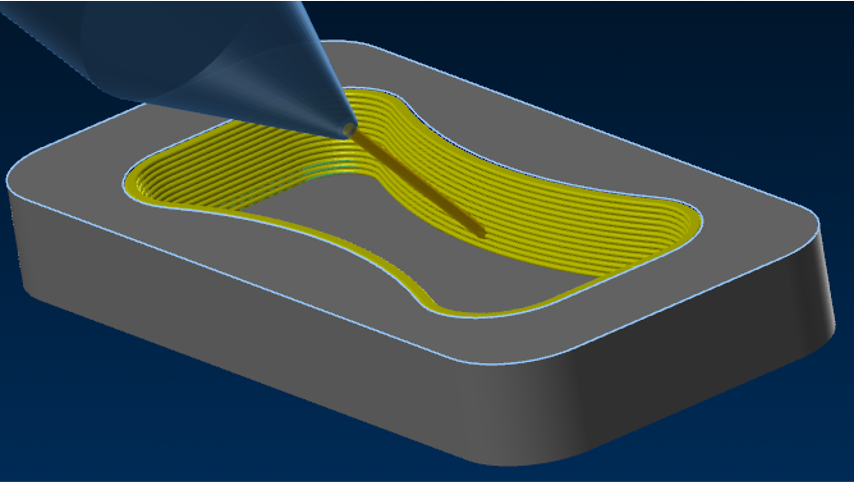 Surface Outline toolpath for additive manufacturing in APlus